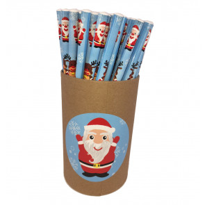 Christmas Cheap Gifts | Value tub 72 Christmas Fun HB Pencils
