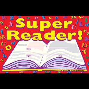 Kids Certificates | Super Reader! School Certificates