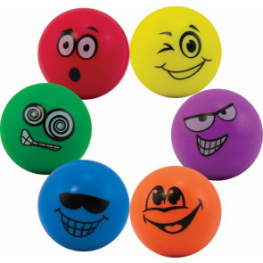 Low Cost Kids Gift | Cheeky Face / Emoji Bouncy Balls