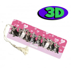 3D Bookmarks | Kitten Bookmark For Party Bags & Class Gifts