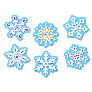 Displays for Classrooms | Snowflake Cutouts for Christmas or Winter displays