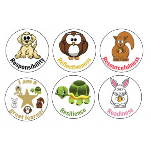 Teacher Stickers | Lifelong Learning Character Stickers