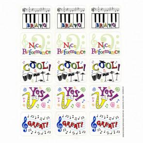 Music Stickers | Praise Sticker for Music Teachers