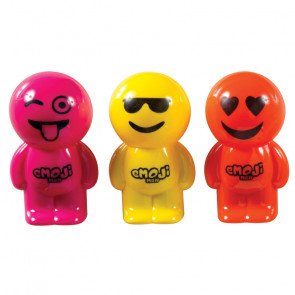 Class / Party Bag Gifts | Extra Large Cool Emoji Man Sharpeners