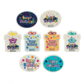 Kids Erasers | Happy Birthday Erasers For Party Bags & Class Gifts