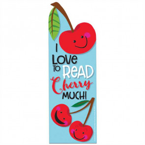 Kids Bookmarks | I love to Read Cherry Much! Scented Bookmarks
