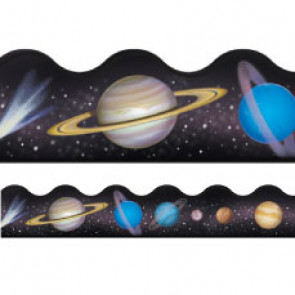 Display trimmers / borders   Solar System