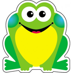 Display Cut Out Cards | Fun Frog Small Picture Cards.