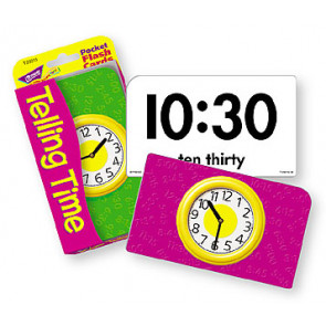 Educational Games | Telling Time Flash Cards.