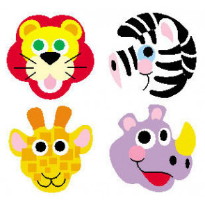 Zoo Animal Kids Stickers   Stickers for Children