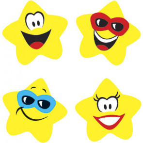 Star Brights School Stickers for Teachers