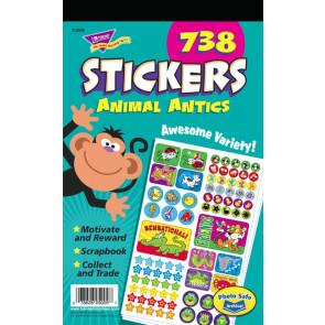 Animal Antics Kids Stickers