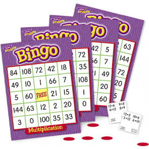 Educational Games | Multiplication Bingo Games for the Whole Class