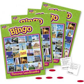 Famous Landmarks Kids Bingo