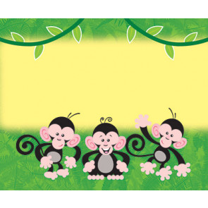Name Badges   Monkey Mischief Name Tags or Resource Label Stickers