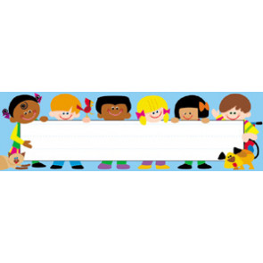 Trend Kids Name Plates