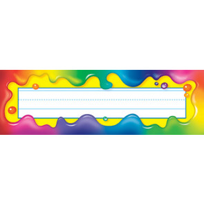 Rainbow Gel Nameplates