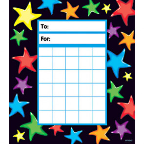 Gel Stars Behaviour Charts