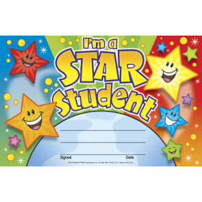School Certificiates | I'm a Star Student Children's Certificates