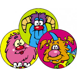 Furry Friends Scratch and Sniff Teachers Stickers (Licorice)