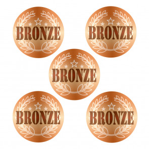 Stickers | BRONZE Award Stickers for Sports Day / Achievement Awards