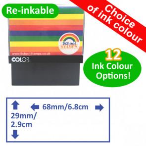 Custom Stamps   Rectangle Self-Inking Custom Stamp