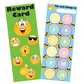 Reward Charts | Emoji Reward Bookmark / Sticker Reward Chart