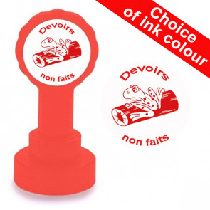 Teacher Stamp | Devoir non fait - Self-inking Stamp