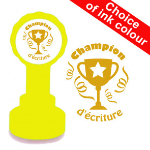 Teacher Stamps | Champion d'écriture French MFL Marking Stamp
