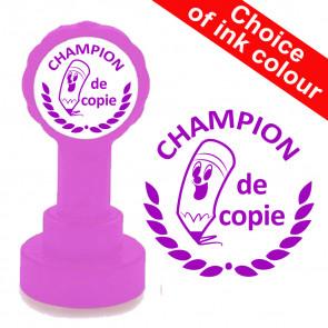 Teacher Stamp | Champion de copie, French MFL Teacher Stamp