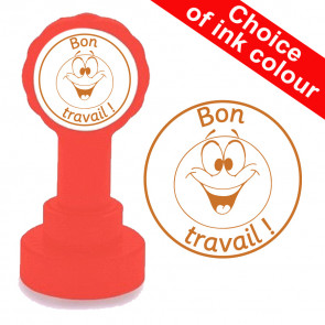 School Stamps | Bon travail French Teacher Stamp