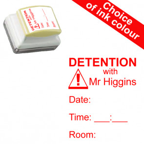 Teacher Stamp | Custom Stamp - Detention