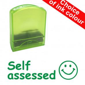 Teacher Stamps | Self assessed. Value Range
