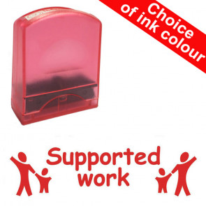 Teacher Stamps | Supported work. Value Range