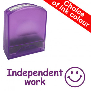 Teacher Stamps | Independent work. Value Range