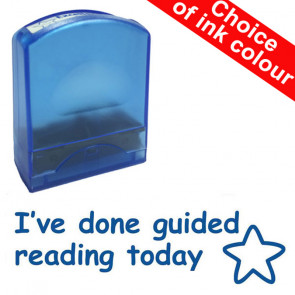 Teacher Stamps | I've done guided reading today