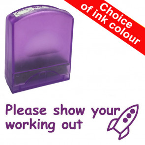Teacher Stamps | Please show your working out. Value Range.