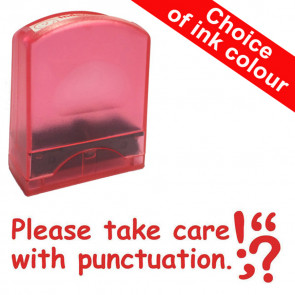 Teacher Stamps | Please take care with punctuation.