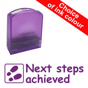 Teacher Stamps |Next steps achieved Value Range