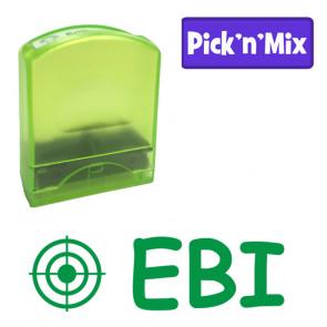 School stamps | EBI (Even better if) Teacher Stamp.
