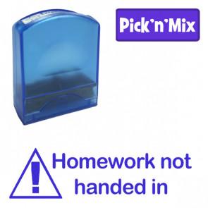 School Stamps | Homework not handed in, Self-inking Teacher Stamp