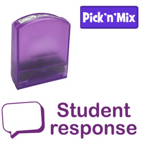 School stamps | Student response Teacher Stamp