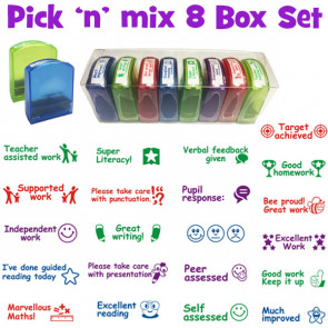 Teacher Stamps | Pick 'n' Mix 8 Teacher Stamp Value Set