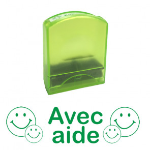 School stamps | Avec Aide -French Design Value Stamp