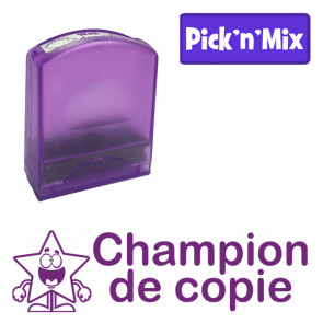 Teacher Stamps | Champion de copie Self-inking. Reinkable Value Range