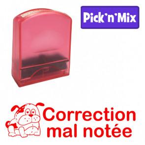 Teacher Stamps | Correction mal notée. Self-inking. Reinkable Value Range