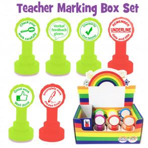 School Stamps | Teacher Marking Stamp Box Set