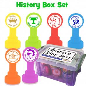 Teacher Stamps | History Marking Stamp Box Set (KS2)