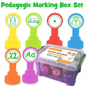 Teacher Stamps | Pedagogic Target Stamps (KS1) Teacher Stamp Box Set