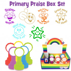 School Stamps | Great Value Primary Praise Teacher Stamp Box Set